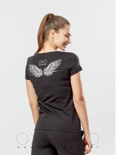 Женская футболка Oxouno 0354-141 kulir 05
