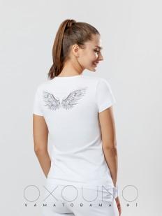 Хлопковая футболка Oxouno 0355-149 kulir 05