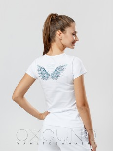 Женская футболка Oxouno 0355-148 kulir 05