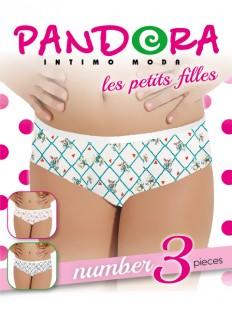 Трусы слипы Pandora PD 61544 (3 шт.)