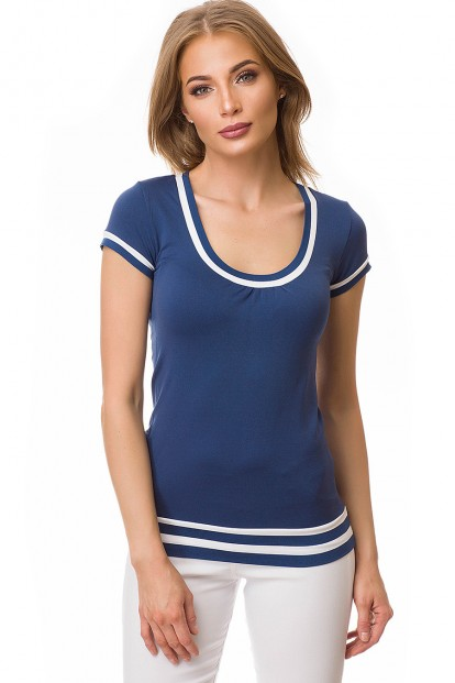 Женская бесшовная футболка с глубоким вырезом Gatta TEE DONNA