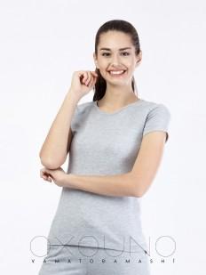 Хлопковая футболка Oxouno 0362 kulir 05