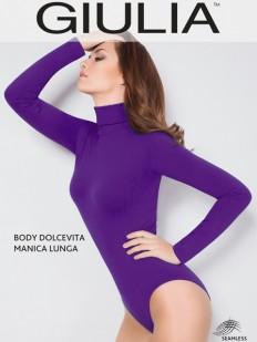 Боди водолазка Giulia BODY DOLCEVITA MANICA LUNGA