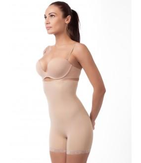 Корректирующие женские корсетные трусы панталоны большого размера
