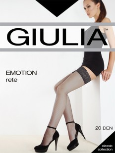 Чулки в сетку Giulia EMOTION RETE