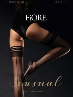 Фантазийные чулки Fiore FEMME FATALE