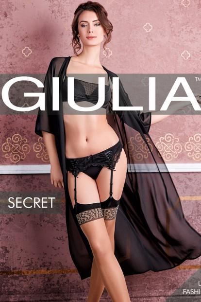 Тонкие чулки под пояс Giulia Secret 08