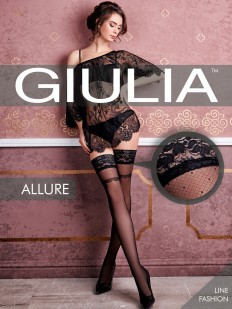 Фантазийные чулки GIULIA Allure 18