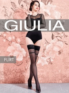 Фантазийные чулки Giulia FLIRT 01