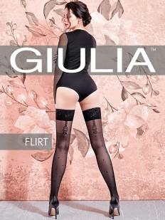 Фантазийные чулки Giulia FLIRT 02