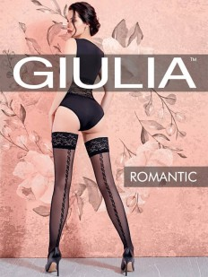 Летние чулки GIULIA Romantic 02