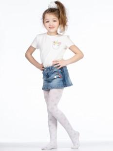 Детские колготки для девочек со звездочками