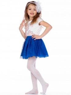 Детские колготки 40 ден для девочек с сердечками и звездами