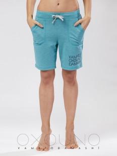 Хлопковые женские удлиненные шорты OXOUNO
