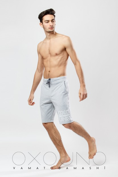 Мужские хлопковые шорты бермуды с карманами Oxouno 0252-113 footer 01