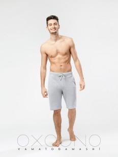Хлопковые домашние мужские шорты с карманами