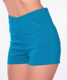 Женские яркие летние шорты с задними карманами