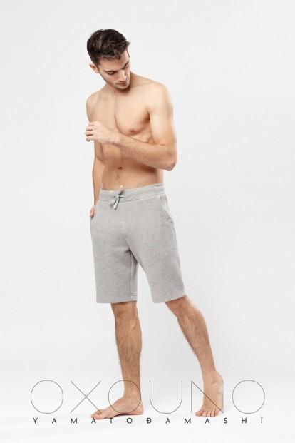 Мужские хлопковые шорты с отстроченным поясом Oxouno 0484 footer 02