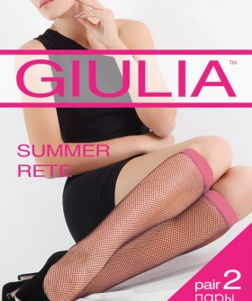 Гольфы Giulia SUMMER RETE COLOR (2 п.)