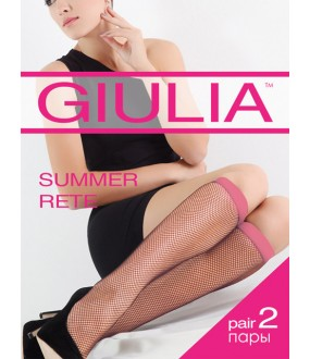 Гольфы Giulia SUMMER RETE COLOR (2 п.) гольфы