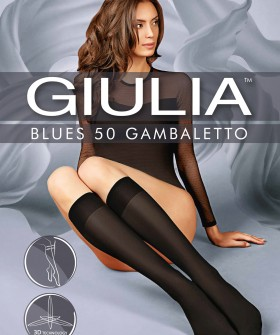 Женские гольфы Giulia BLUES 50 den