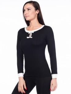 Женская блузка из вискозы с длинным рукавом