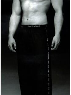 Хлопковые мужские спортивные штаны для дома