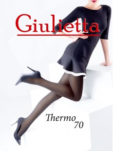 Теплые колготки Giulietta Thermo 70