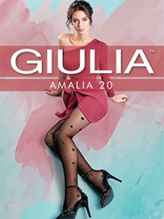 Колготки в горошек Giulia AMALIA 11