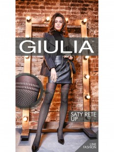 Колготки с имитацией GIULIA Saty rete up 01
