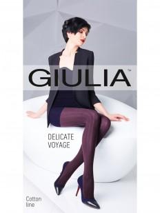 Вязаные хлопковые колготки Giulia DELICATE VOYAGE 06