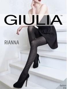 Ажурные колготки с эффектом тюля Giulia RIANNA 06