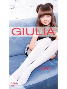 Детские ажурные колготки GIULIA Trixie 02