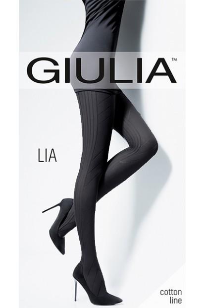 Теплые хлопковые колготки 150 ден Giulia LIA 06 - фото 1
