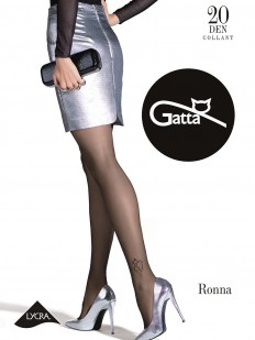 Фантазийные колготки с тату Gatta RONNA 20