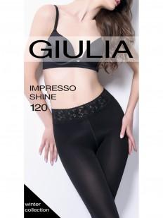 Матовые колготки GIULIA Impresso shine 120