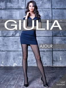 Фантазийные колготки Giulia AJOUR 60 den