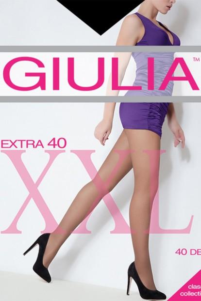Классические матовые колготки больших размеров Giulia EXTRA 40 XL - фото 1