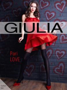 Матовые колготки с имитацией Giulia PARI LOVE 60 den