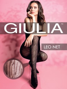 Фантазийные колготки GIULIA Leo Net 02