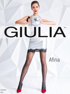 Фантазийные колготки с рисунком Giulia AFINA 03