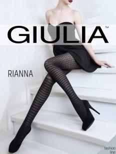 Цветные колготки с рисунком Giulia RIANNA 05