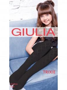 Детские ажурные колготки GIULIA Trixie 01