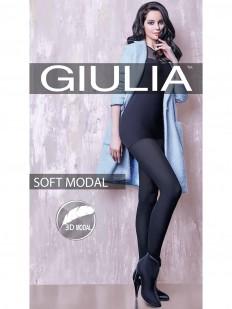 Теплые классические колготки Giulia SOFT MODAL 150 den