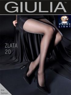 Блестящие колготки Giulia ZLATA 20 den