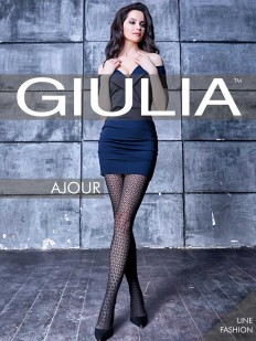 Ажурные колготки Giulia AJOUR 60 den