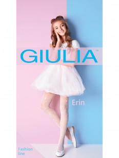 Детские колготки с сердечками 20 ден Giulia Erin 01