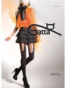 Последний товар!!! Матовые колготки с имитацией Gatta GIRL UP 18