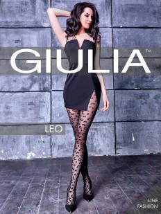 Фантазийные колготки леопард Giulia LEO 01