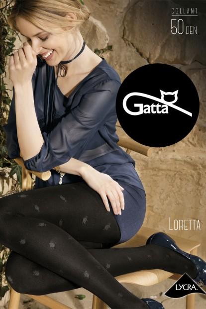 Фантазийные колготки с рисунком котики Gatta LORETTA 113 - фото 1